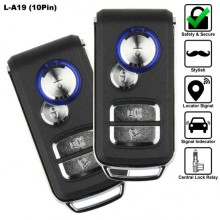 10 Pin 4-Button Multi Function Car Alarm System [L-A19]