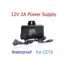 12V 2A Waterproof Power Supply for Arduino/CCTV