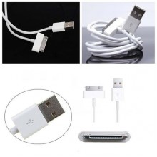 1m USB Sync Data Charging Charger Cable Cord for Apple iPhone 3GS 4 4S