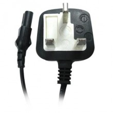 2 Pin Power Cable With Fuse UK Type for Printer Adapter Cable