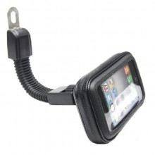 360' Rotation Motorcycle Mobile Phone Mount Holder Waterproof GPS