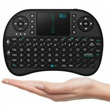 Rii 2.4GHz Keyboard I8 Air Mouse Remote Control Touchpad For PC Android TV Box