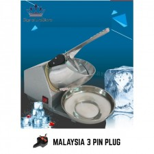 [Malaysia Plug] 2 Blades Ice Crusher Mesin ABC Ice Shaver Heavy Duty Commercial