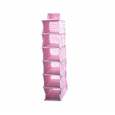 Sunee Hanging Clothes Storage (Pink)