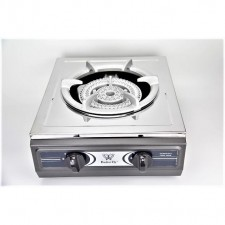 Butterfly Single Gas Stove Stainless Steel B-35J