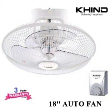 """KHIND 18"""" AUTO FAN (COMES WITH REGULATOR)"""