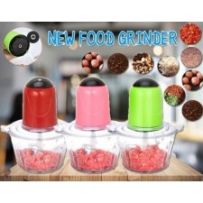 MINI HAND FOOD MIXER (RED, PINK, GREEN)