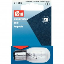 Spare Bulb For Sewing Machine With Bayonet Socket