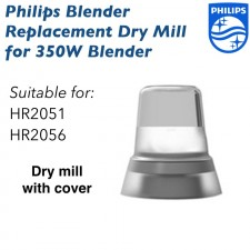 Philips Replacement Dry Mill Set For HR2056 & HR2051