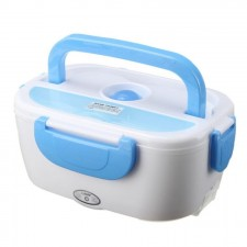 Multifunctional Portable Heating Electric Lunch Box S19 (Blue/Red)