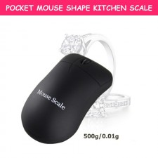 500g/0.01g High Precision Digital Pocket Portable Jewellery Mouse Scale
