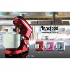 INNOFOOD Stand Mixer KT-609 Silver (6.5L)(1300W) Bowl With Handle NEW