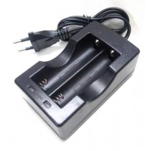 18650 Dual Zone Rechargeable Battery Charger Li-ion Wall Charger