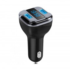 GPS Real-Time Location 4.2A Dual USB Car Charger (2 In 1)