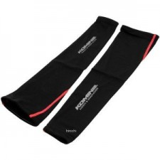Komine AK-313 Cool Compression Arm Cover Black Red Motorcycle Hand Sock