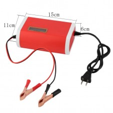 FAST CHARGE 12V 6A Portable Car Motorcycle Lead Acid Battery Charger LCD Display
