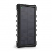Quick Charge Solar Outdoor Portable Charger Power Bank 25000mAh