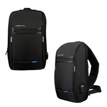 10.1 inches Anti-Theft Shoulder Bag with USB Charging Port