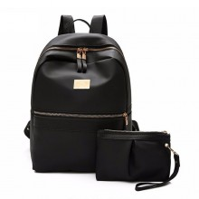 2 in 1 Backpack Shoulder Beg Purse Travel Casual Bag