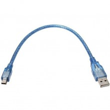 0.3M High Speed USB 2.0 External Harddisk Cable AM to Mini 5pin