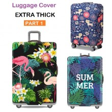 Extra Thick Luggage Cover Protector Elastic Zipper- PART 1