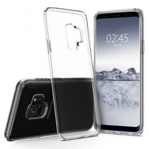 Liquid Crystal Samsung Galaxy S9 / S9 Plus Case Cover Casing