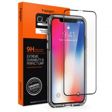 IPHONE X FULL COVER TEMPERED GLASS SCREEN PROTECTOR
