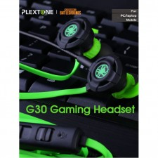 G30 Gaming Earphone Long Mic Bass HD Stereo Earbud PUGB PS4 Xbox Gamer Mobile Legend CS Go