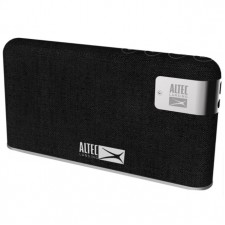 ALTEC LANSING STONE PORTABLE BLUETOOTH WIRELESS THIN PROFILE FABRIC WRAPPED SPEAKER