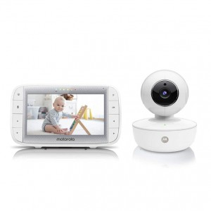 "Motorola MBP36XL Video Baby Monitor 5"" Color Parent Unit, Remote Pan/Tilt/Zoom"