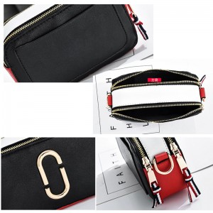 MJ Lovee Double Zip Premium Quality Sling Bag Dinner Casual Shoulder Bag