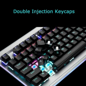 HP GK520 Mechanical Gaming Keyboard N-key roll-over LED Double-Shot Key caps Compatible with Pc Windows