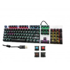 Philips SPK8404 Wired Mechanical RGB Gaming Keyboard With Color LED Back-lit