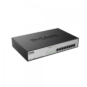 D-Link Dlink Desktop Gigabit PoE+ Switch (140W/8 Port) DGS-1008MP