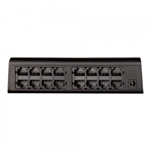 D-LINK DLINK DES-1016A (PLASTIC)16 PORT FAST ETHERNET DESKTOP SWITCH IN CASING WITH PLUG & PLAY