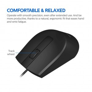 Philips SPK7104 Wired Mouse 1000 DPI