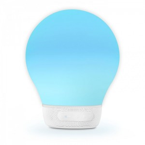 Divoom Aurabulb Bulb Shape Bluetooth Smart Lamp Speaker