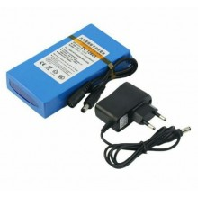 12v DC Rechargeable Battery Polymer Lithium-Ion Battery with Charger