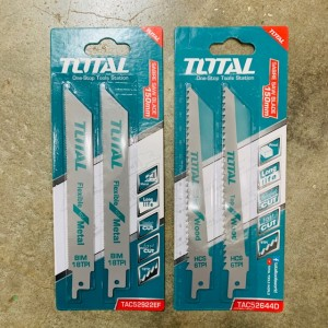 """TOTAL HEAVY DUTY SABRE SAW BLADE 6""""-150MM (2PCS / PACK)"""