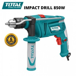 TOTAL 850W INDUSTRIAL 13MM HAMMER IMPACT DRILL