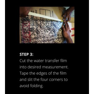 SAMURAI WATER TRANSFER FILM WFP001-2 + WATER FILM ACTIVATOR 400ML